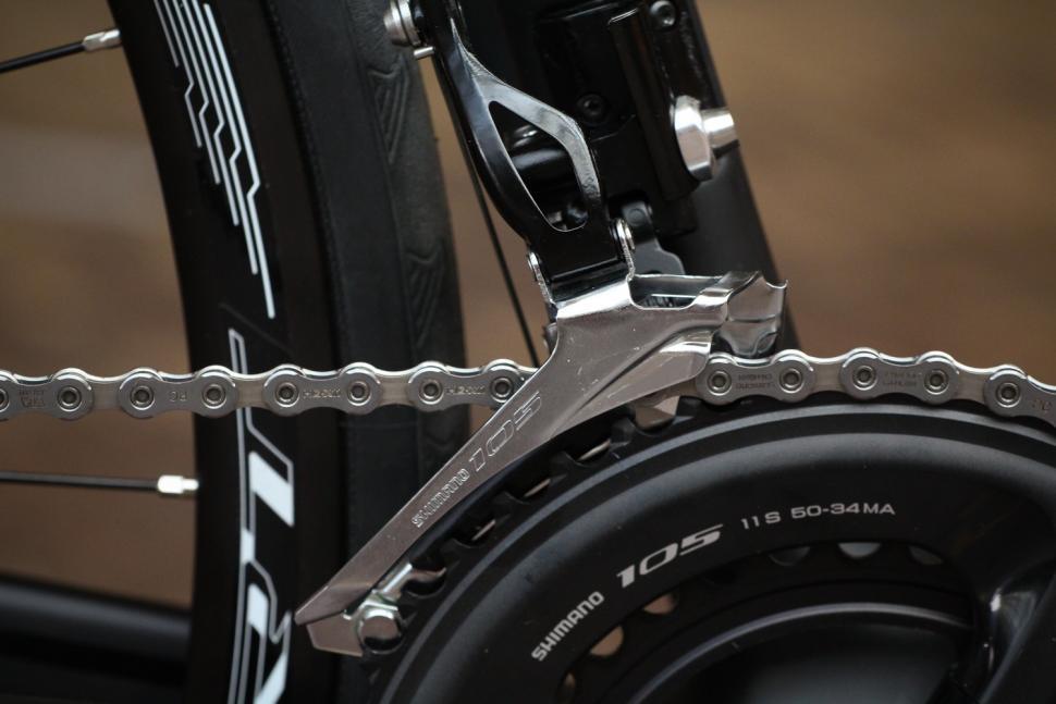 Ribble Sportive Racing Disc - front mech.jpg