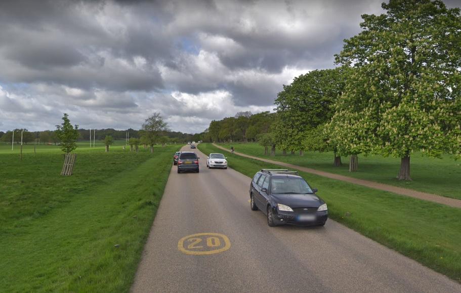 Richmond Park (via StreetView)