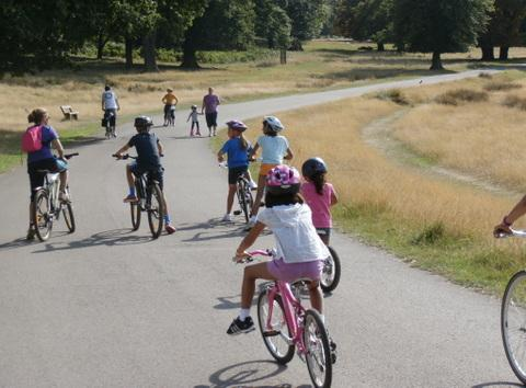 Campaigners urge reversal of Richmond Park cycling ban