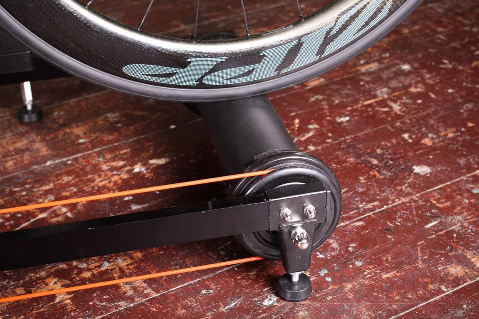 Riva Sport Adjustable Bicycle Roller Trainers - front wheel.jpg