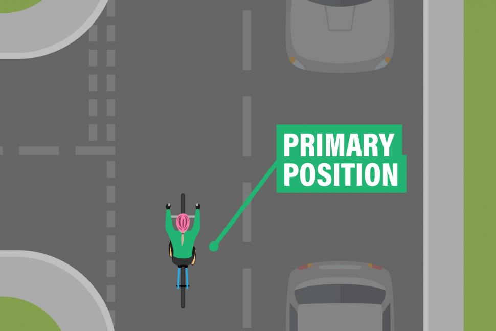 road positioning - primary position approaching junction.jpg
