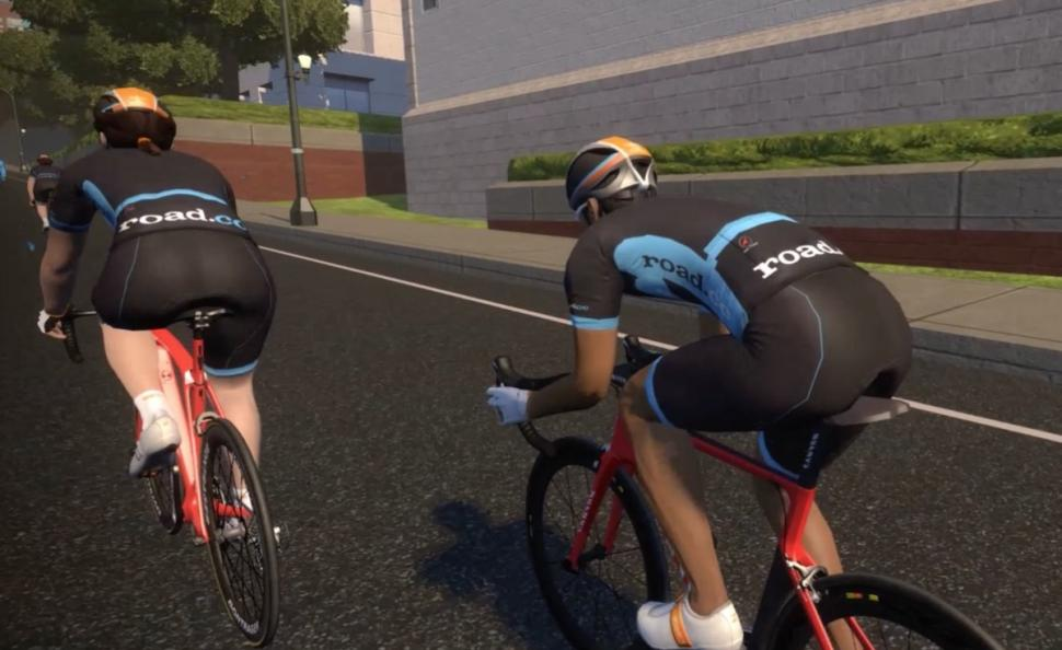 Ride in road cc kit on Zwift + video | road cc