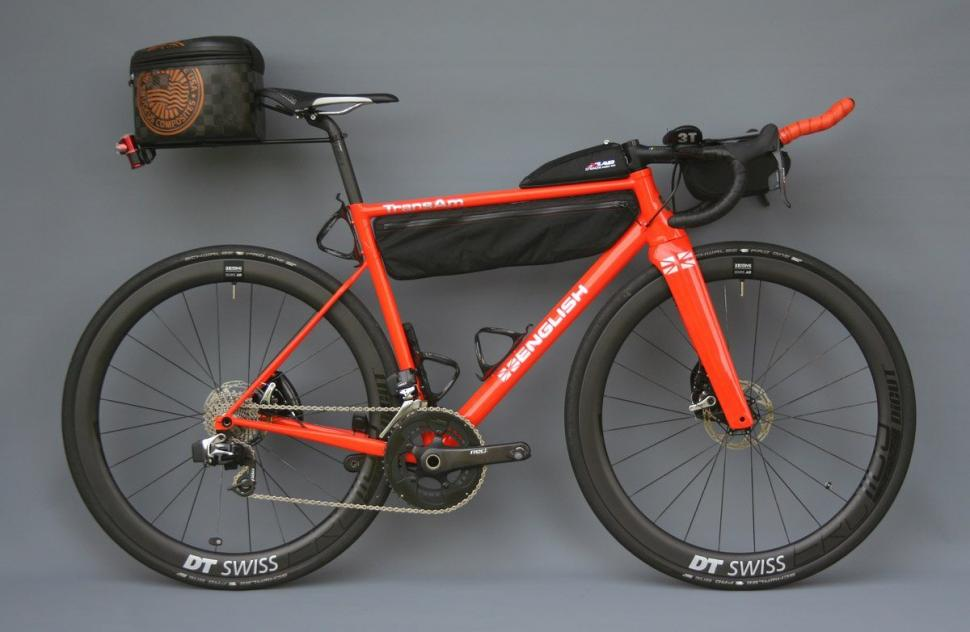 Rob English\'s custom Trans Am aero steel race bike | road.cc