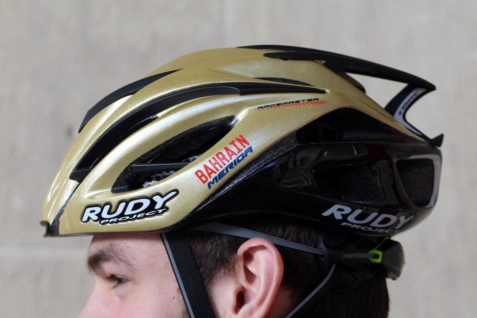 Rudy Project Racemaster Gold Velvet Helmet - side 2.jpg