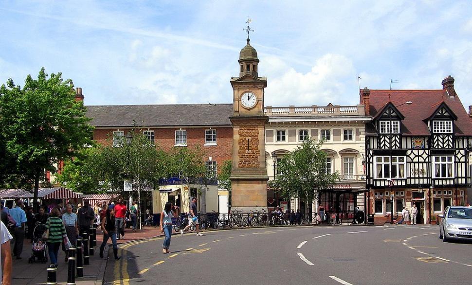 Rugby Market Place (public domain)