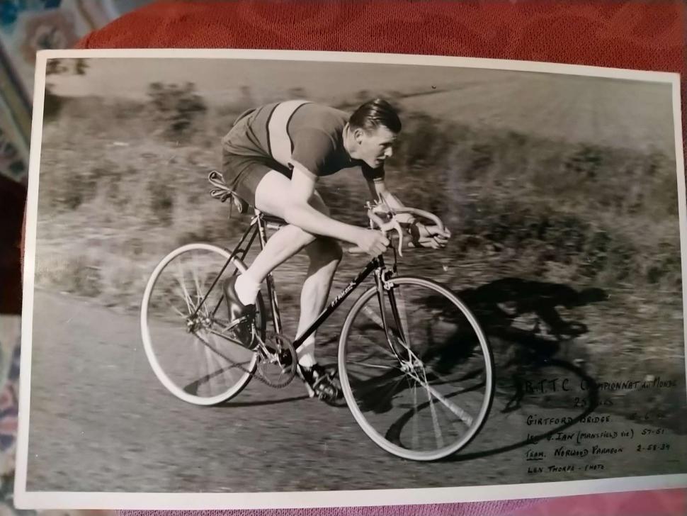 Russ Mantle racing (Cycling UK)