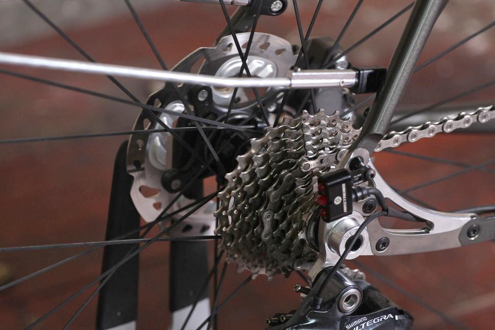 Saffron Frameworks custom winter bike - rear cassette.jpg