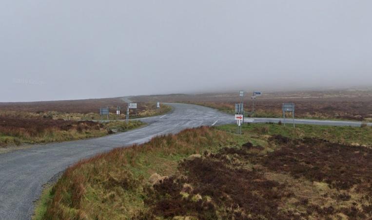 Sally Gap junction (via StreetView)
