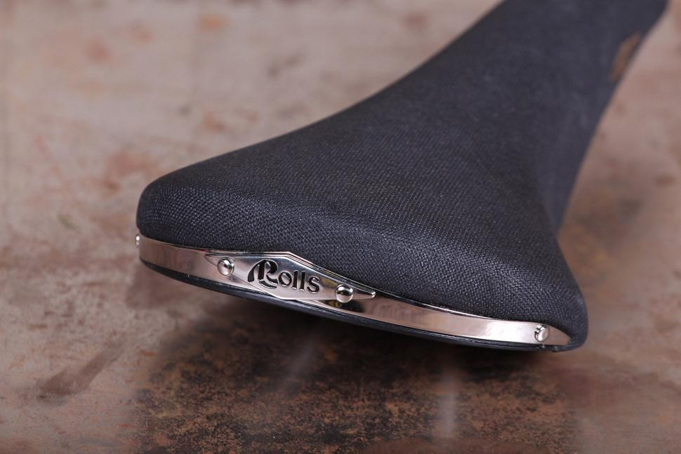 Selle San Marco ROLLS CLASSIC Road Cycling Saddle BLACK WOVEN MICROFEEL