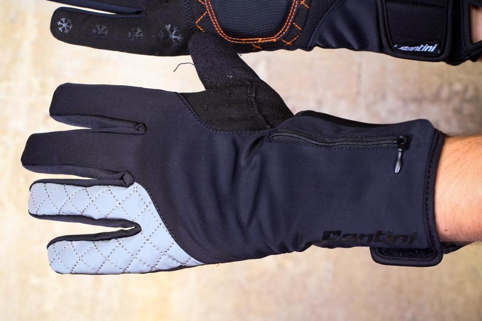 Santini 365 Win Fiord Long Finger Glove - back.jpg