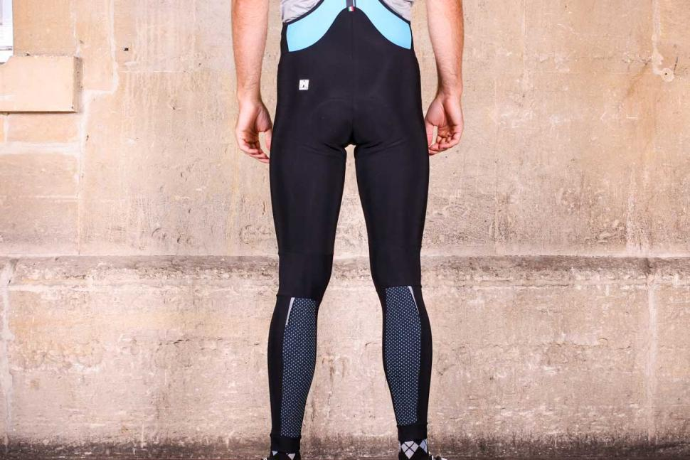 Santini Acquazero bib-tights Vega design - back.jpg