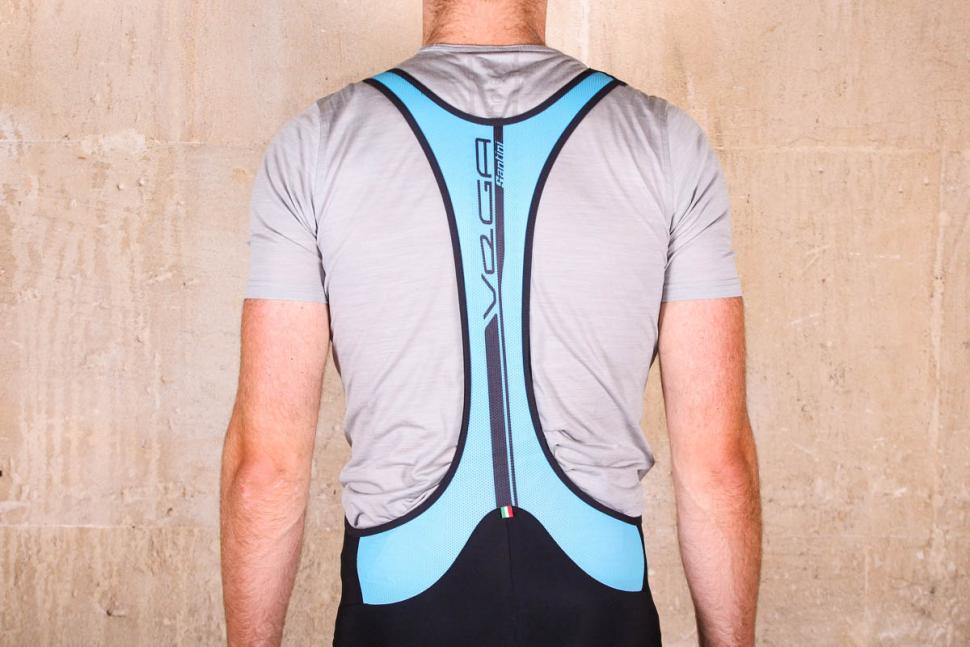 Santini Acquazero bib-tights Vega design - straps back.jpg