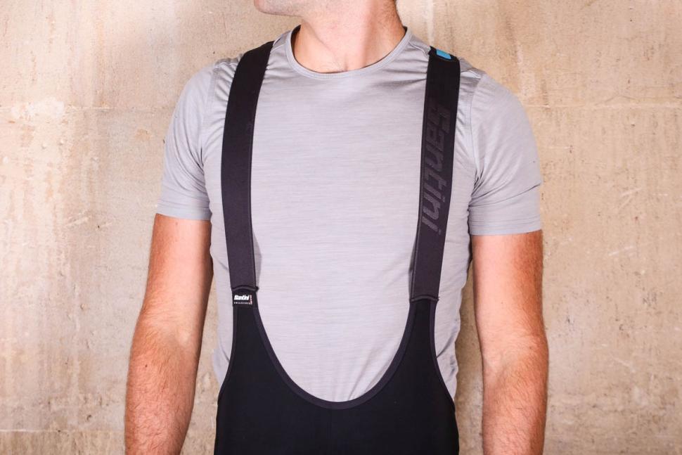Santini Acquazero bib-tights Vega design - straps front.jpg
