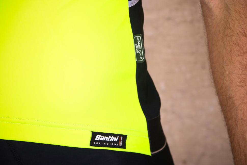Santini Beta Light Short Sleeve Wind Jersey - logo.jpg