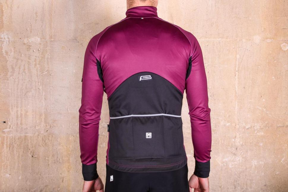 Santini Beta Rain Jacket - back.jpg