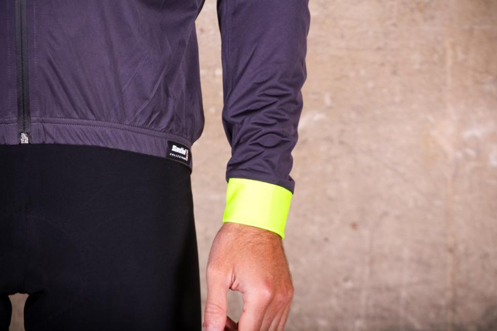 Santini Guard Rain Jacket - cuff.jpg