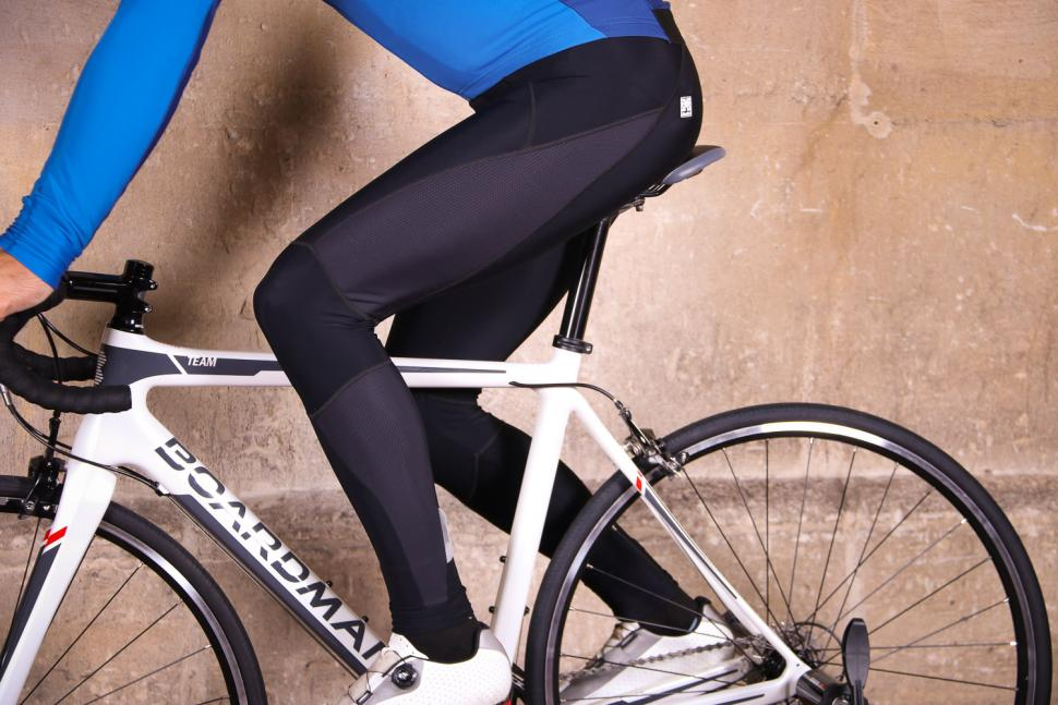 Santini MY Ego GIT Pad Bib Tight - riding.jpg