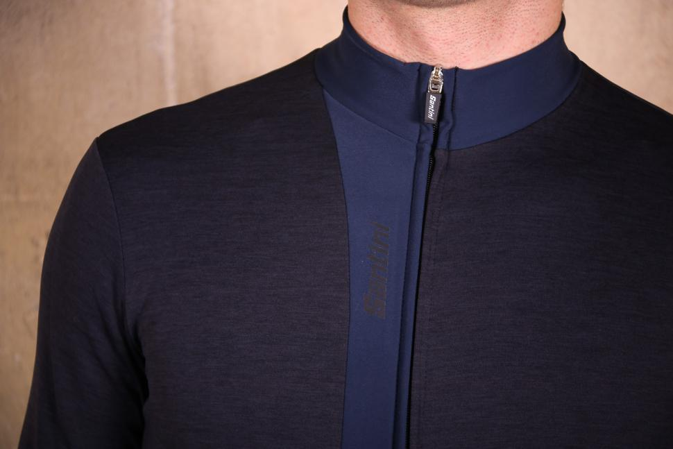 Santini Origine Winter Long Sleeve Jersey - detail.jpg