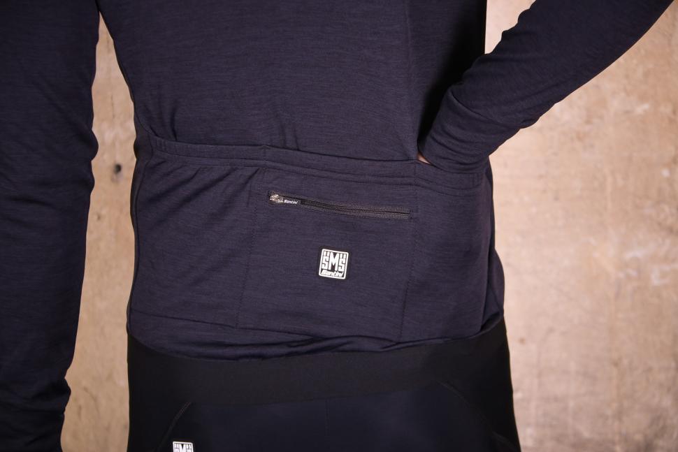 Santini Origine Winter Long Sleeve Jersey - pockets.jpg
