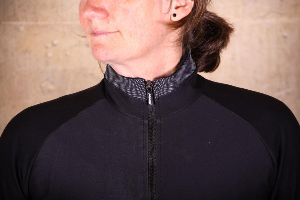 Santini Passo Jacket - collar.jpg