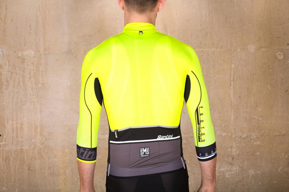 Santini Photon 3.0 jersey with 3-4 Sleeves - back.jpg