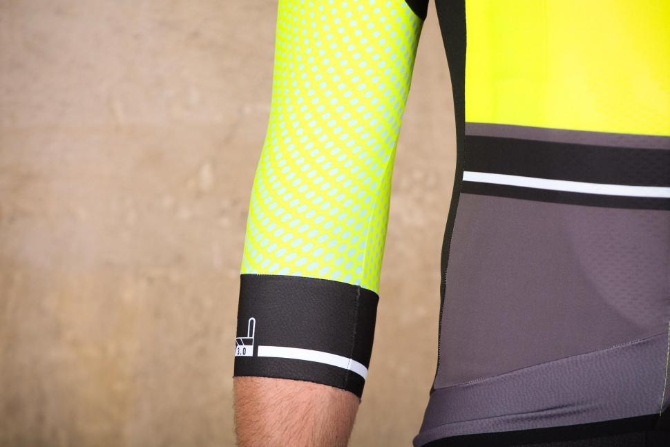 Santini Photon 3.0 jersey with 3-4 Sleeves - sleeve 2.jpg