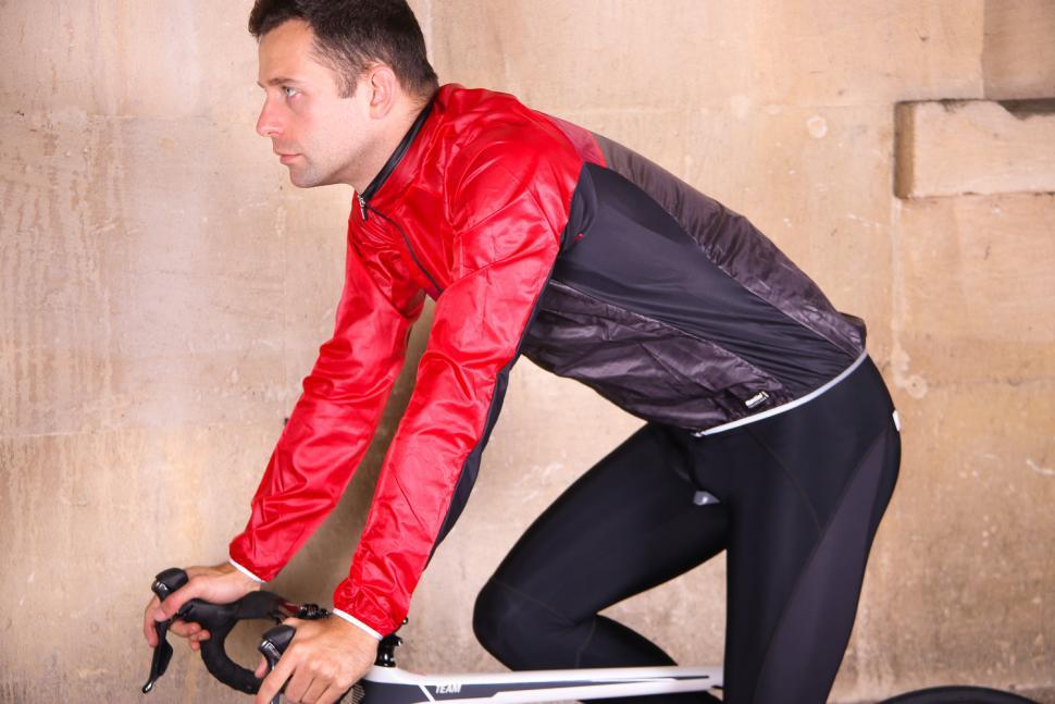 Santini Skin Windbreaker - riding.jpg