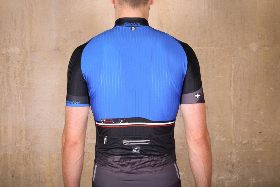 Review  Santini Sleek Plus Short Sleeve Jersey  5e3a22698