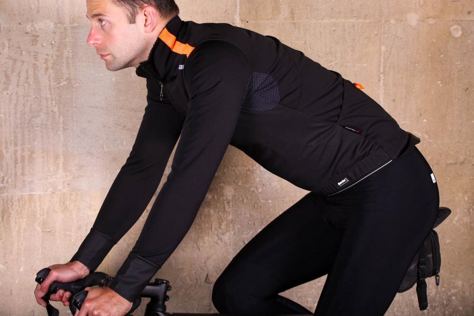 Santini Vega Xtreme jacket - riding.jpg