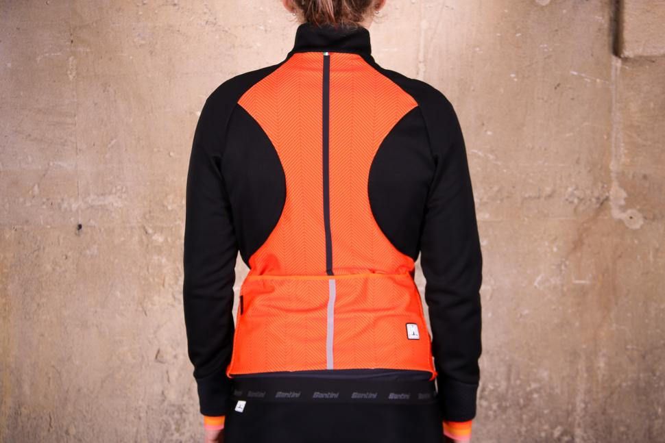 Santini Womens Coral 2.0 winter jacket - back.jpg