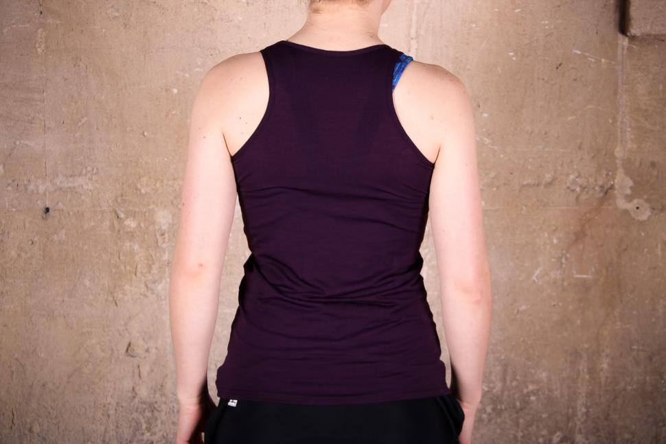 Santini Womens Wool Tech sleeveless Base Layer - back.jpg