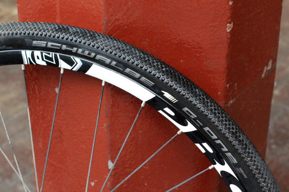 Schwalbe G-One Allround Tubeless Gravel Tire 700 x 35 Folding Bead Black