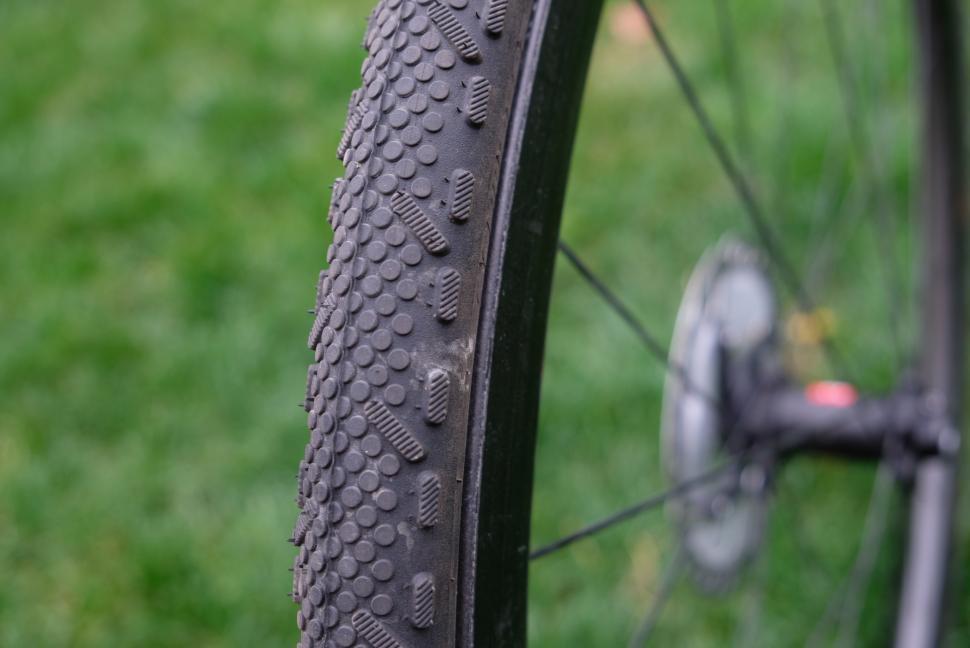 Schwalbe X-One Speed Tyre on rim8.JPG