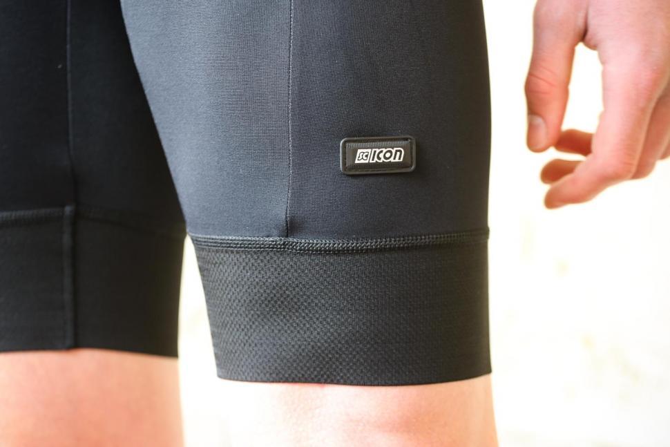 Scicon X-Over Bib shorts - cuff and logo.jpg