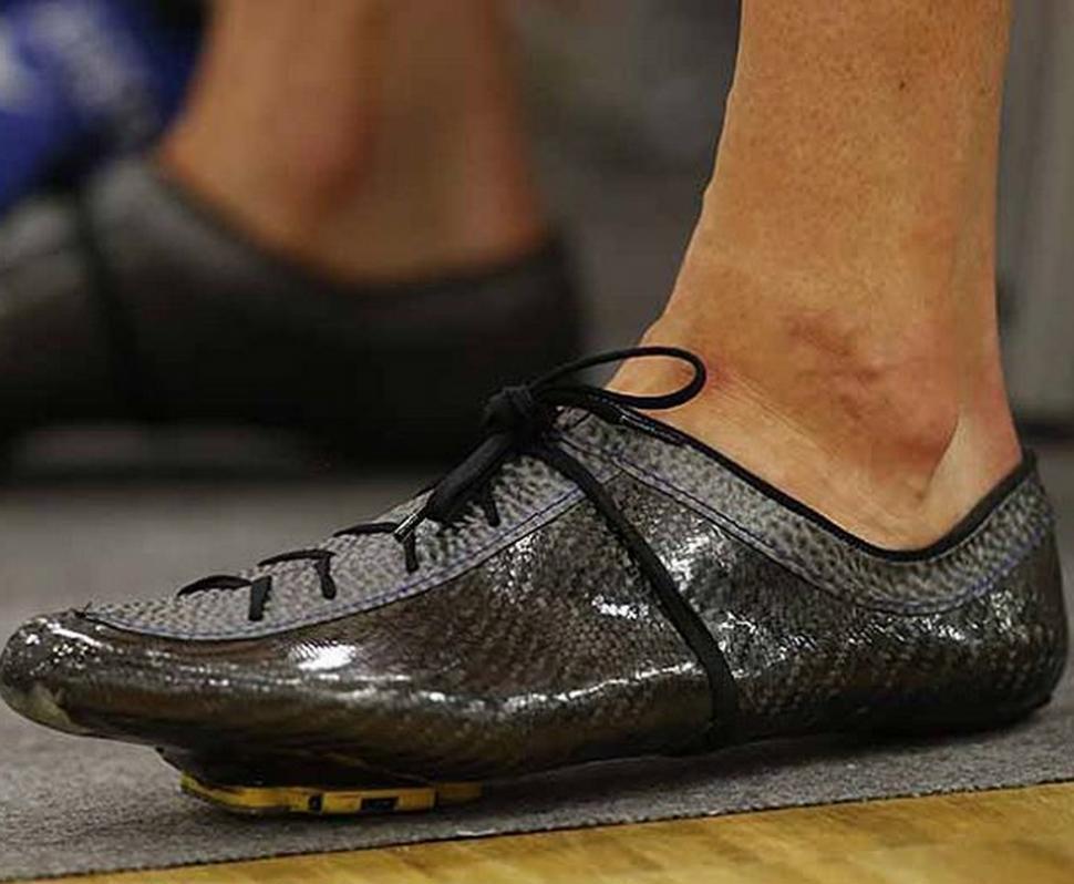ac6a956bef Have you seen Bradley Wiggins  new custom carbon fibre shoes