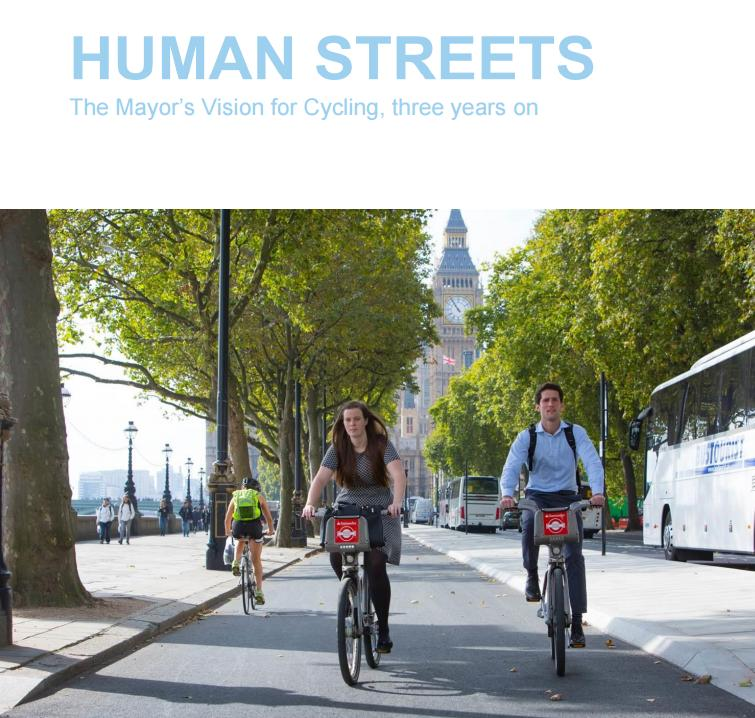 Human Streets by Greater London Authority