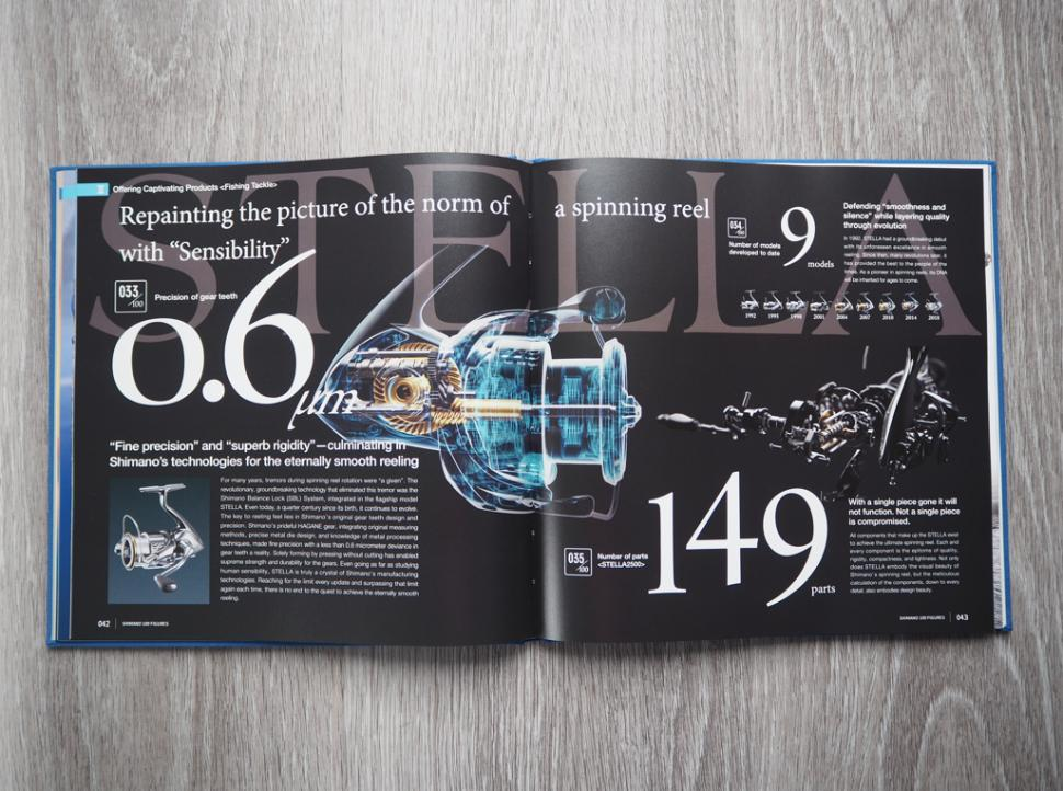 Shimano 100 fishing reel facts and figures.PNG