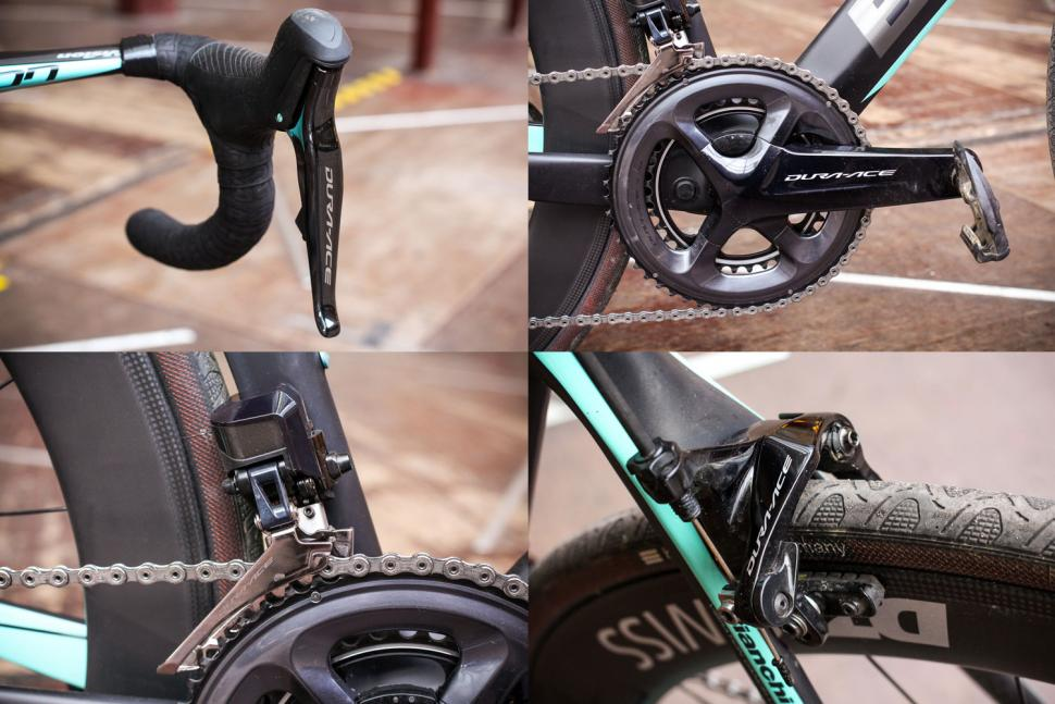 Bicycle Components & Parts Shimano Dura Ace Cs-9000 11-25t Cassette Consumers First Cycling