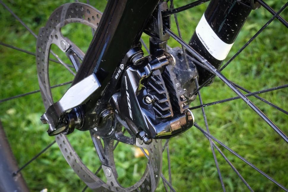 GRIMECA BICYCLE REAR WHEEL HUB for DISC BRAKE 36 SPOKE 10 mm AXLE