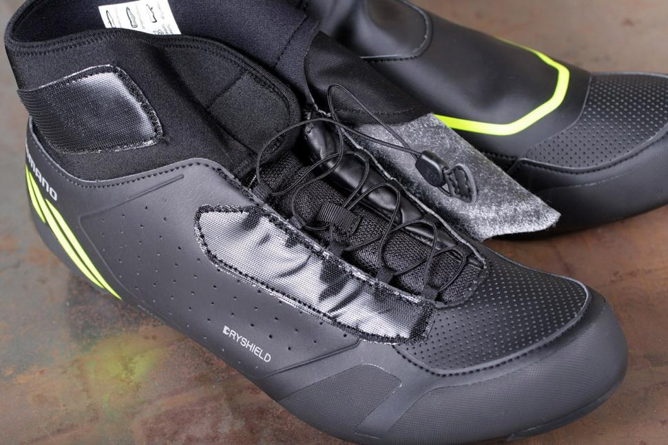 Shimano RW5 Dryshield SPD-SL shoes - laces.jpg