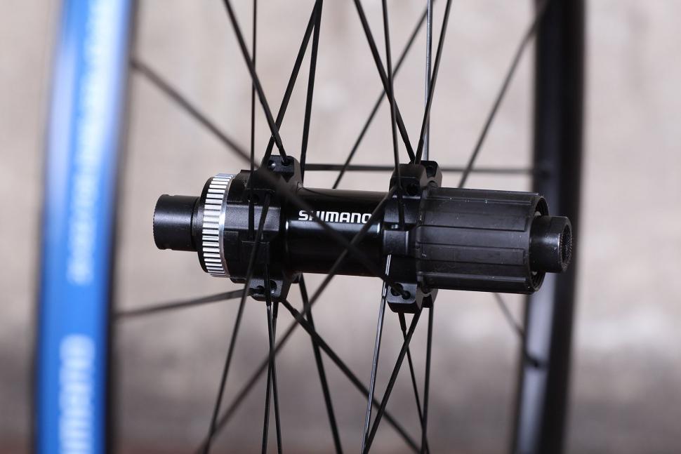 Shimano RX31 wheelset - rear hub.jpg