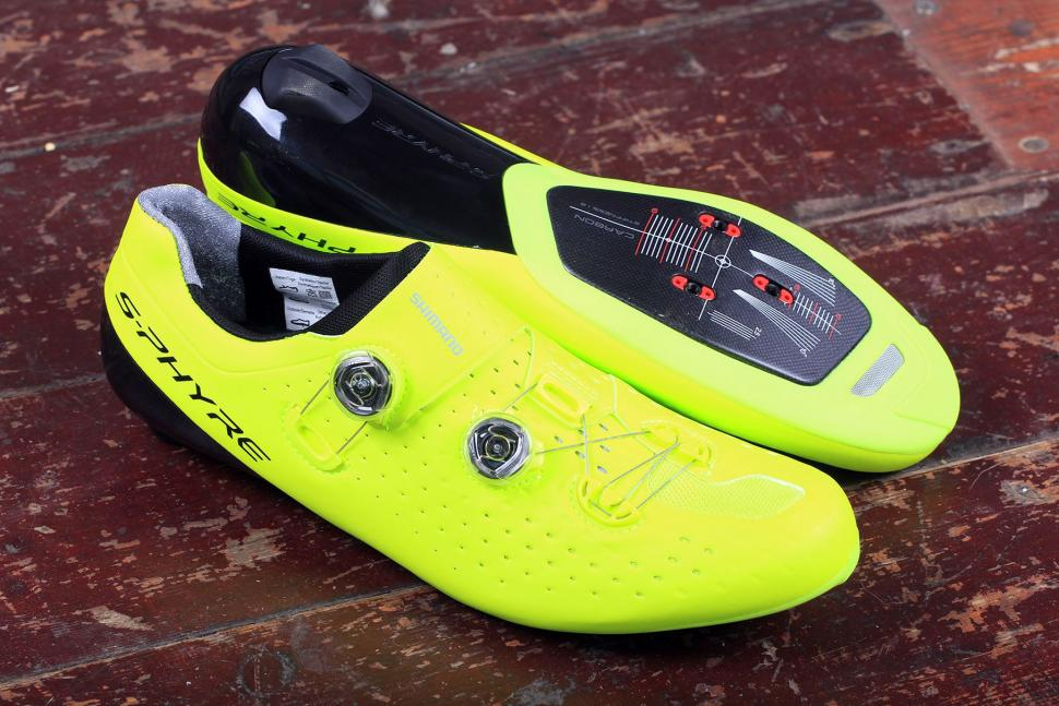 Shimano Race Shoes RC9 SPD-SL shoes, S-Phyre Size 47 wide White