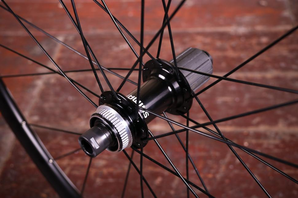 Shimano WH-RS170 Clincher wheelset - rear hub 2.jpg