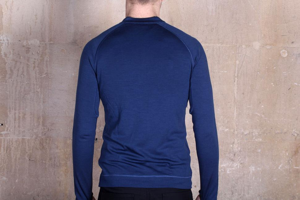 Showers pass Long sleeve Bamboo-Merino Henley Shirt - back.jpg