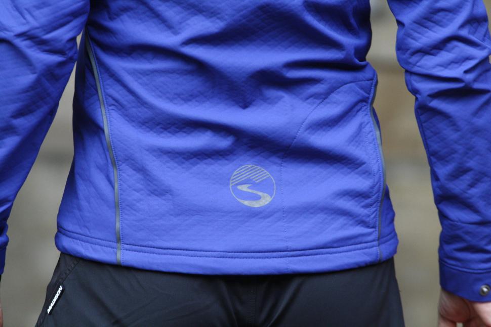 Showers Pass Womens Rogue Hoodie - back logo.JPG