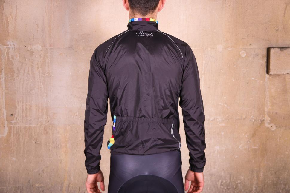 Shutt Velo Rapide Showerproof Jacket - back.jpg
