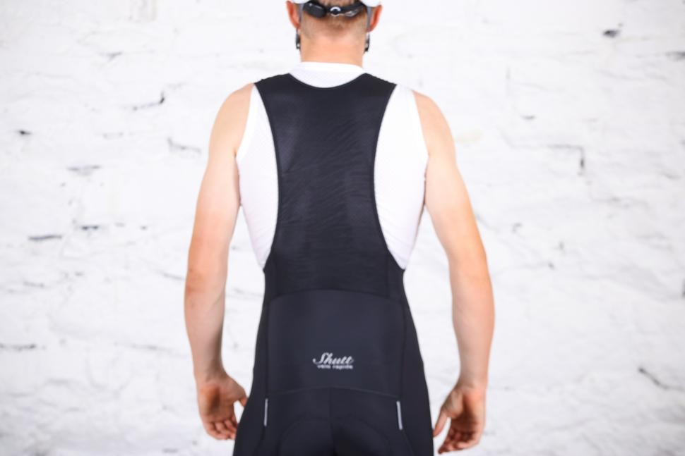 Shutt Velo Rapide Signature Sanremo Bib Shorts - straps rear.jpg