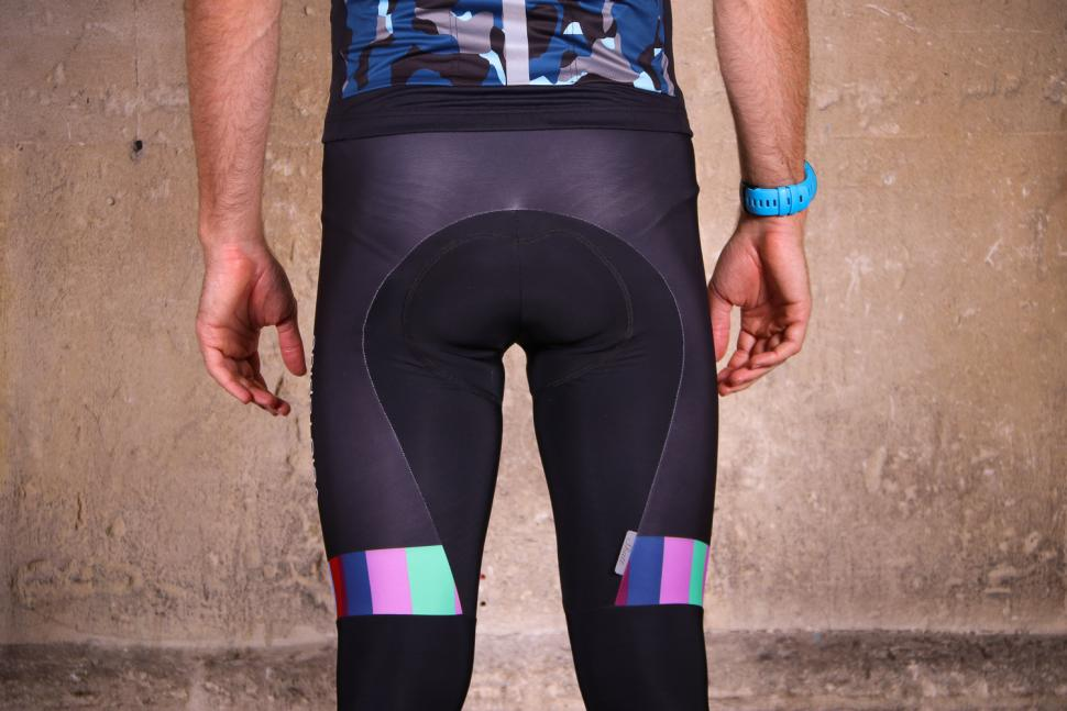 Shutt Velo Rapide Team Bib Tights - back detail.jpg