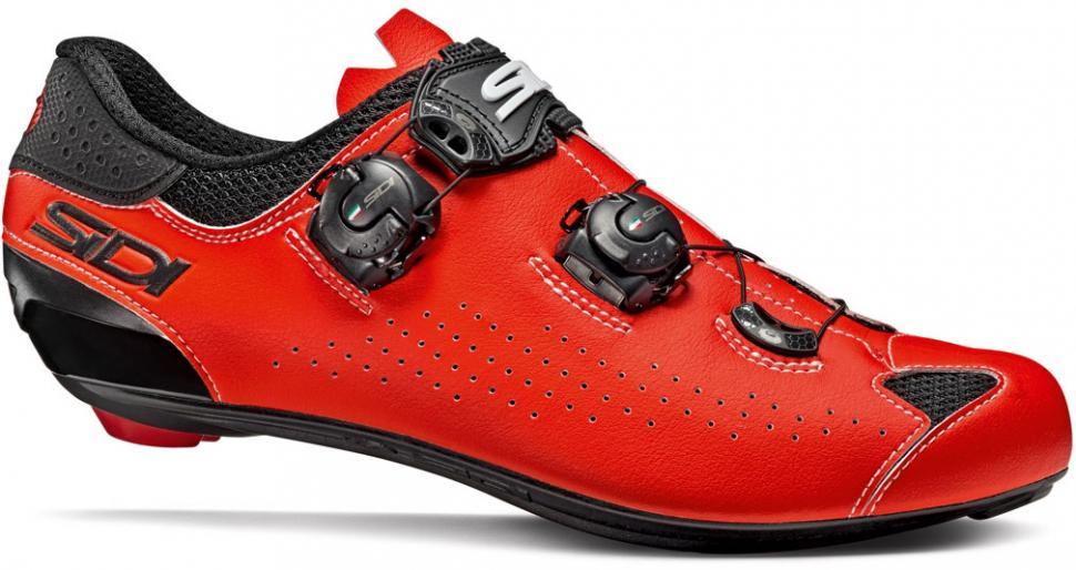 Sidi Genius 7 Shoes Men White//Black//Red 2019 Schuhe