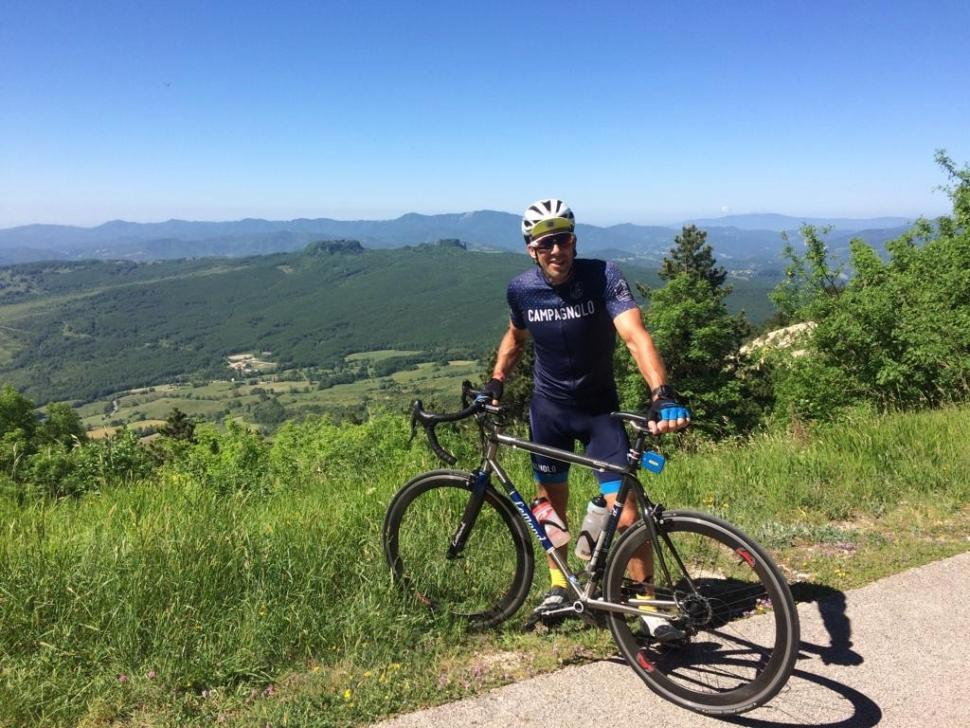 Simon at top of Cippo - 1.jpg